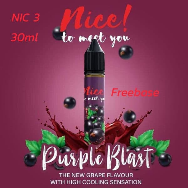 Nice To Meet You Purple Blast 30ml