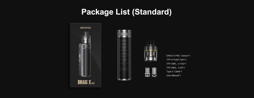 Drag X Pro Package